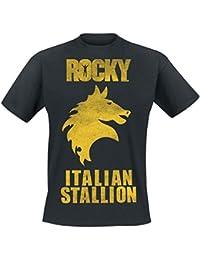 Rocky Italian Stallion T-shirt noir