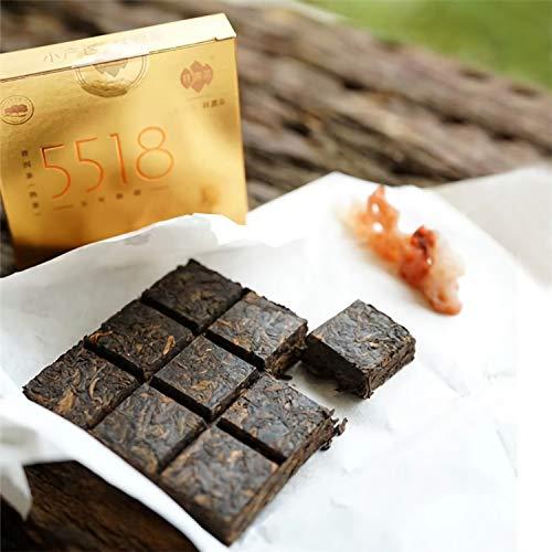 Pu-erh Brick Tee Yunnan China Authentischer Jiugongge Pu'er ripe cake tea 405 Gramm