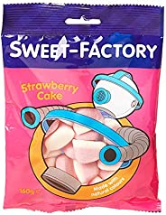 Sweet Factory Strawberry Cake Jelly Candies - 160 gm