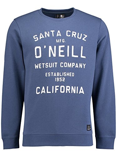 O'Neill Sweatshirts - O'Neill Type Crew Sweatshirt - Black Out Carbon Blue