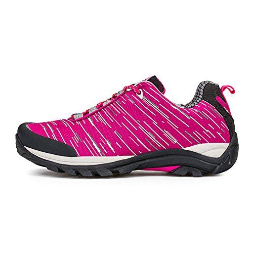 chaussures randonnée pédestre Belles Derbies Nouvelles Hiver Sneakers Hommes Rose