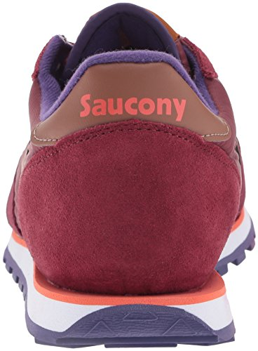 Sneaker Saucony Jazz Low Pro Yellow 206 (Wine)