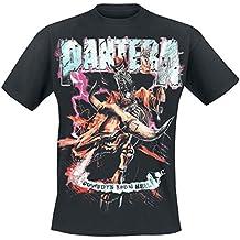 Pantera Cowboys From Hell 1990 Camiseta Negro