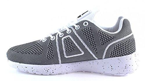 ASFVLT - Super Yarknit - Sneaker - grau weiss Grau