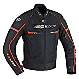 Ixon Blouson Moto Pitrace, Orange, Taille XL