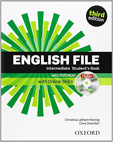 English File third edition: Intermediate: Student's Book with iTutor by Christina Latham-Koenig (9-May-2013) Paperback