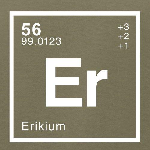 Erik Periodensystem - Herren T-Shirt - 13 Farben Khaki