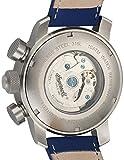 Ingersoll Herren-Armbanduhr Colby Chronograph Automatik Leder IN1224SCR - 2
