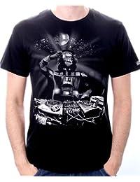 T-Shirt Star Wars DJ Vador Black - Licence Officielle