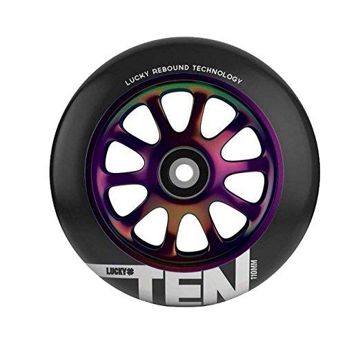 lucky-rueda-ten-negro-cromado-110mm