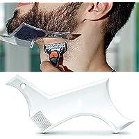 LanLan Herramienta de Belleza de los Hombres, Molde de diseño de Barba de los Hombres, Molde de Belleza de Peine para la Barba