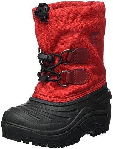Sorel Unisex-Kinder Childrens Super Trooper Schneestiefel, Rot (Bright, Red Element), 26 EU - Sorel Kids Yoot Pac Boot