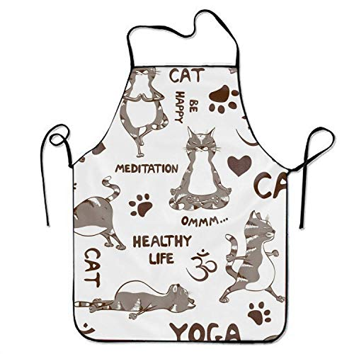 HTETRERW Snake Multicolor Trypophobia Apron for Baking Crafting Gardening Cooking Durable Easy Cleaning Creative Bib for Man and Woman Standar Size