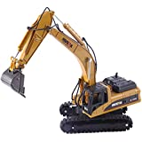 Yvsoo Excavadora Juguete, Retroexcavadora RC Excavator Construction Vehículo Modelo para Niños