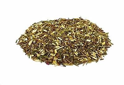 L'Empire des Thés - Rooibos Vert, Délice de Fruit - Infusion antioxydante sans théine de Rooibos Vert à la Fraise et à la Pêche - 100G