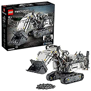 LEGO-La Pelleteuse Liebherr R 9800 Technic Jeux de Construction, 42100, Multicolore (B07NDBGW4G) | Amazon price tracker / tracking, Amazon price history charts, Amazon price watches, Amazon price drop alerts
