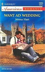 Want Ad Wedding (Harlequin American Romance)