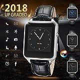 Smartwatch für Android Telefone, iFuntec Bluetooth Smart Watch Touchscreen Smart Armbanduhr mit Kamera Wasserdicht Fitness Tracker Armbanduhr Kompatible für iPhone Android Samsung Huawei Sony für Herren Damen