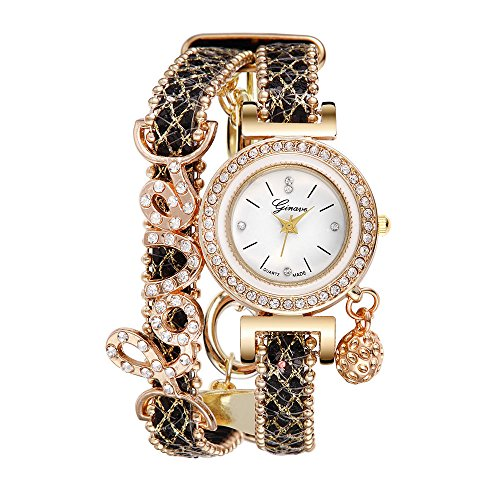 b398c5655684 Womens GENEVA Quartz Watches Ulanda-EU Unique Analog Sale Clearance Ladies  Wrist Watch Female Watches