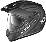X-lite X 551 Shift N- Com Endurohelm, Farbe matt-lava-grau,...