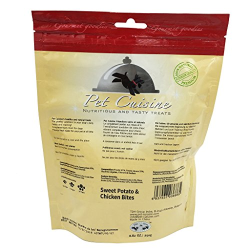 Pet-Cuisine-Dog-Training-Snacks-Puppy-Chews-Jerky-Treats-Sweet-Potato-Chicken-Bites-250g
