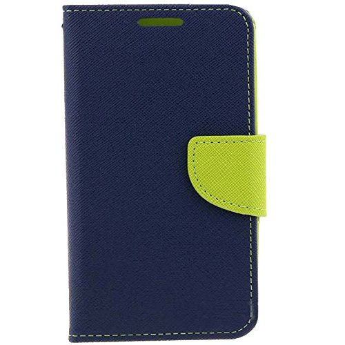 Novo Style Fancy Diary Wallet Flip Cover Case For Lenovo A7000 Blue  available at amazon for Rs.224