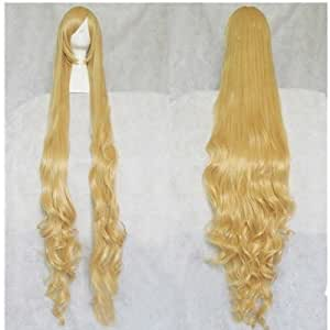 Fengshang Blond Perruque 152,4cm Extra Gosick épaissir Cosplay Perruque