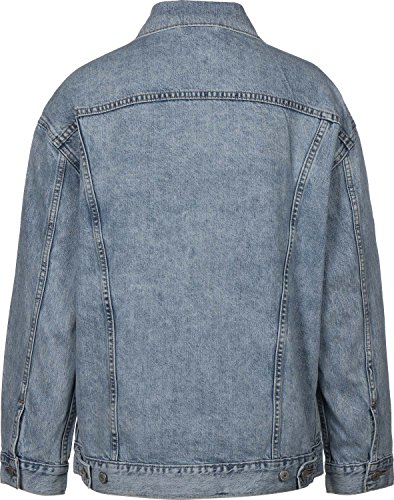 Levi's Baggy Trucker 52304 Jacket Women Denim Light Blue S