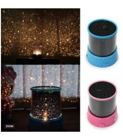 ZHOKE Noël lumière Starlight nuit lumière galaxie ciel Constellation lampe projecteur à LED (Blue)