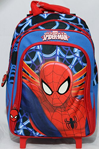 Zainetto trolley scuola disney marvel spiderman 59043
