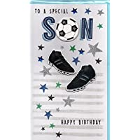 Son Birthday Card - Happy Birthday Son With Lots of Love - At Alexander