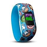Garmin vivofit jr. 2 Fitness-Tracker für Kinder - mit Marvel Avengers Design und Abenteuer-App (inkl. Aufgabenverwaltung, Belohnungssystem, Schlafanalyse und mehr), wasserdicht