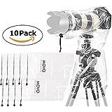 Movo (10er Pack) RC1 Regenschutz für DSLR Kamera & Objektiv bis 46 cm Länge