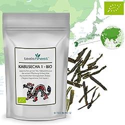 Grüner Tee Japan Kabusecha 1. Pflückung - BIO, 500 Gramm, (100% japanischer Grüntee aus kbA)