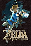 Pyramid International Game Cover The Legend Of Zelda: Breath of the Wild Maxi Poster, mehrfarbig, 61 x 91,5 x 1,3 cm