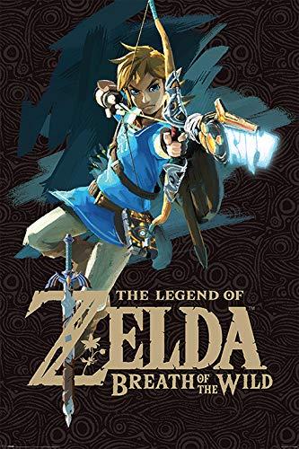 Grupo Erik Editores Poster Zelda Breath Of The Wild