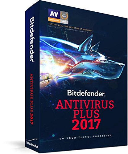 BITDEFENDER ANTIVIRUS PLUS 2017 1 PC 1 ANNO