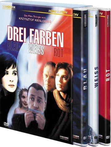 Bild von Drei Farben Boxset (Blau, Weiß, Rot, 3 DVDs)