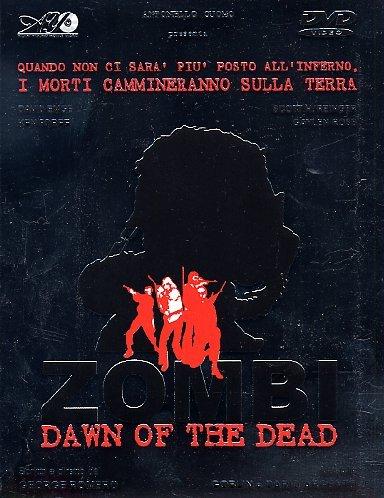 Zombi Dawn of the dead Box 4 DVD e CD