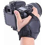 Ozure PU Leather Soft Camera Hand Grip Wrist Strap for Canon Nikon Sony SLR DSLR