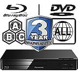 Panasonic DMP-BDT167EB-K Smart 3D 4K Upscaling ICOS Multi Region All Zone Code Free Blu-ray Player. Blu-ray zones A, B and C, DVD regions 1 - 8. YouTube, Netflix etc. HDMI output. HDD Playback