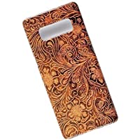 Tooled Leather Look Tasche Cover. Slim Phone Case for Samsung Galaxy Note 8.