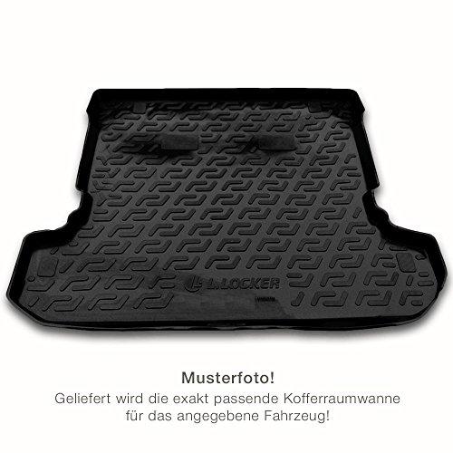 Fussmatten-Deluxe Kofferraum Auto_08277 Passgenaue Kofferraumwanne/Laderaumwanne (Fahrzeug wählen)