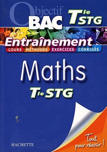 Objectif BAC Terminale STG Maths / Collectif / Réf18751
