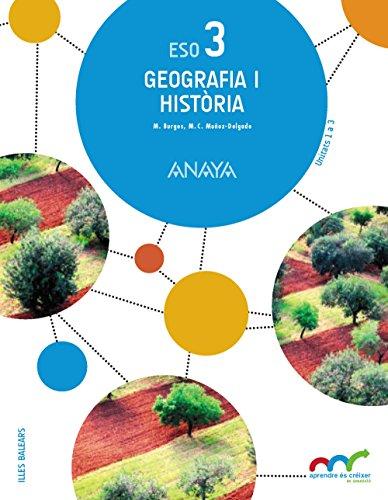 Geografia i Història 3. (Aprendre és créixer en connexió) - 9788467853254 por Manuel Burgos Alonso