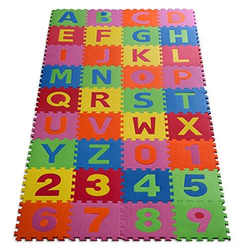 floordirekt Casa Pura Puzzlematte Eva Schadstofffrei Kinderspielteppich Spielmatte für...