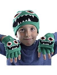 SnoWas-UK - Set de bufanda, gorro y guantes - para niño