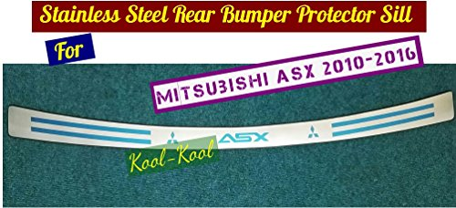 kool-parts-high-quality-s-steel-rear-bumper-protector-sill-for-mitsubishi-asx-2010-20112012-2013-201