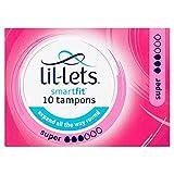 Lil-Lets 10 Smartfit Tampons Super