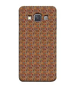 PrintVisa Designer Back Case Cover for Samsung Galaxy A7 (2015) :: Samsung Galaxy A7 Duos (2015) :: Samsung Galaxy A7 A700F A700Fd A700K/A700S/A700L A7000 A7009 A700H A700Yd (Matty Box Round Design Texture Matefinish Star)